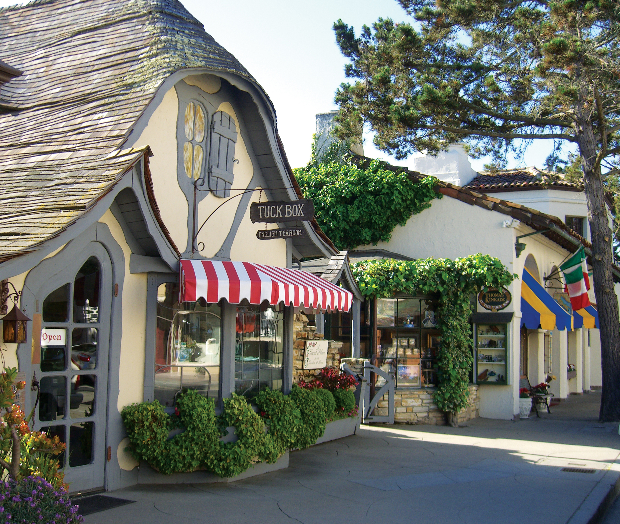 Tuck Box, Carmel California