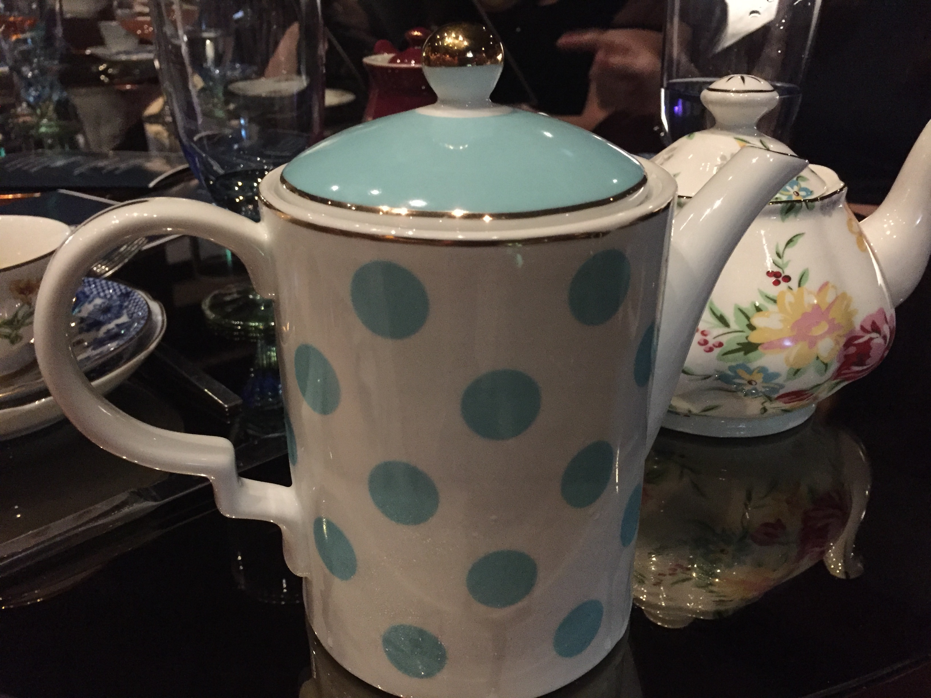 Tipsy Tea Pots each have their own personality