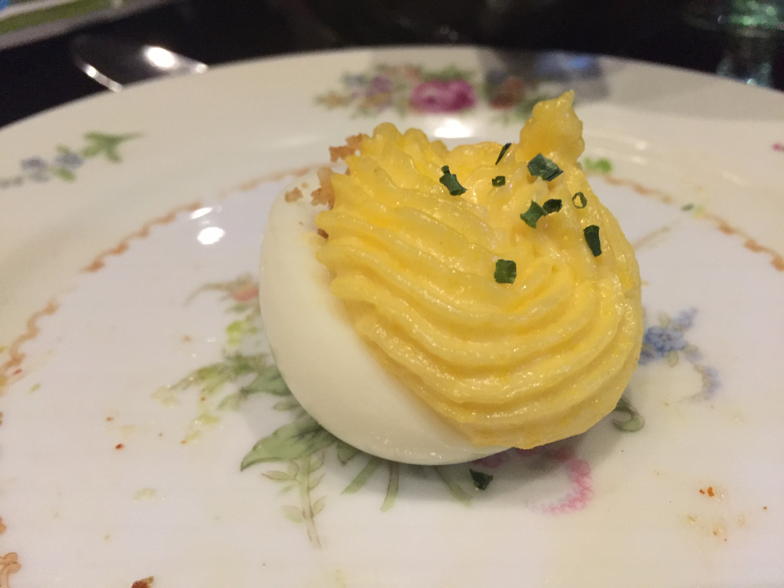 Truffle Deviled Egg