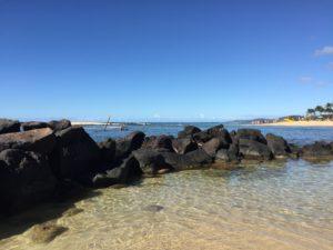 Clear water in Kauai