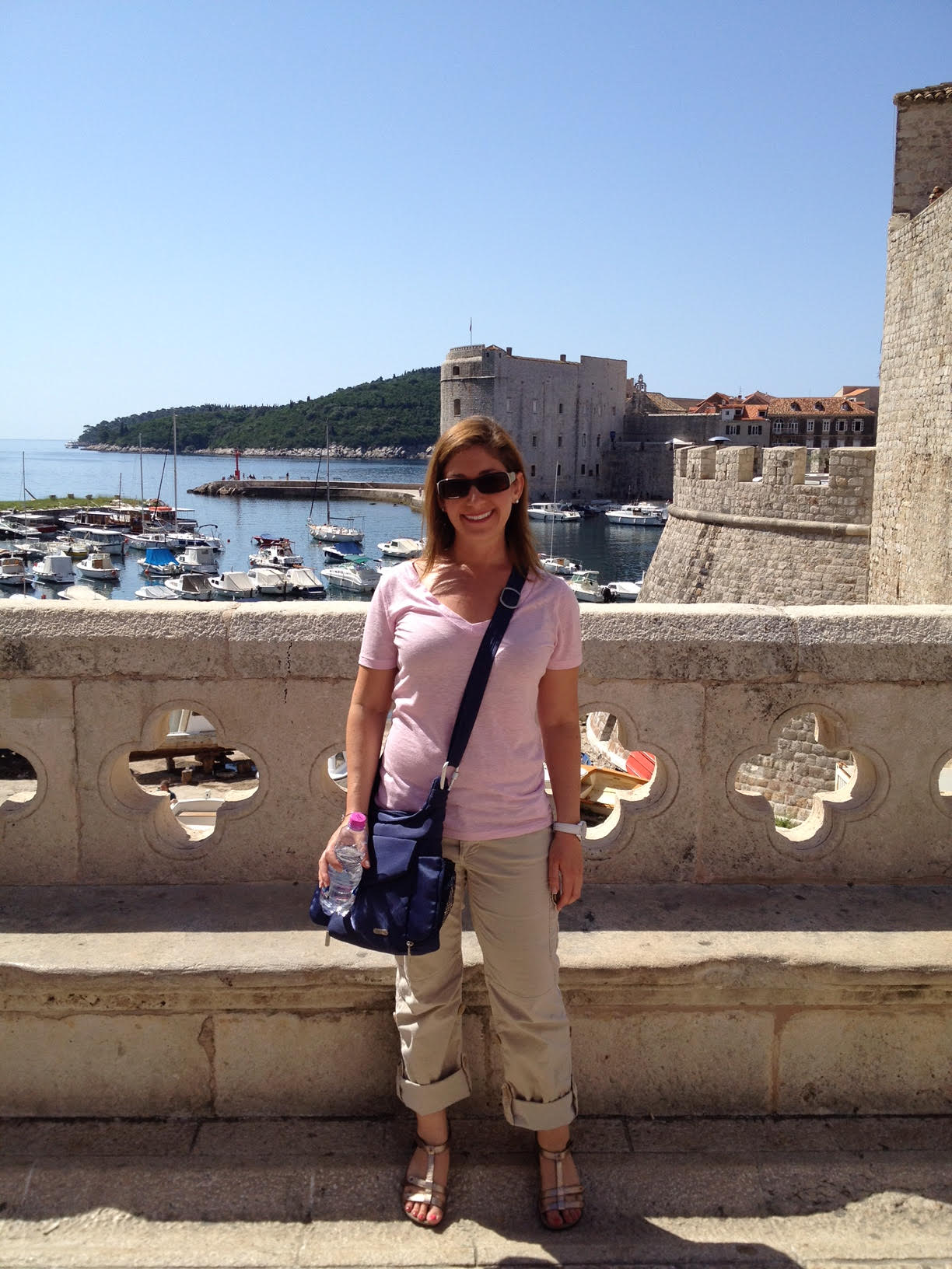 Jill in Dubrovnik, Croatia