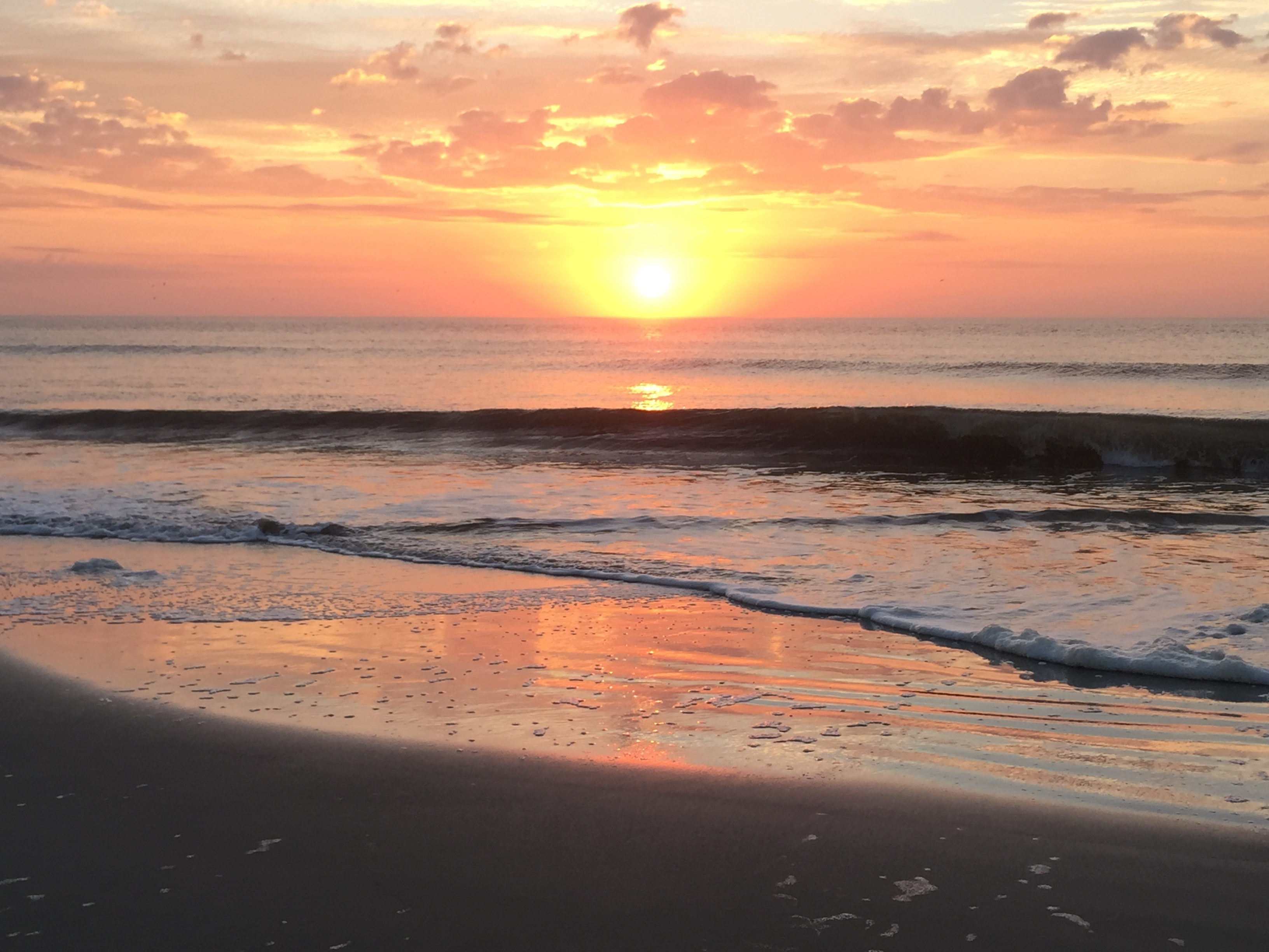 Beautiful sunrise Hilton Head Island