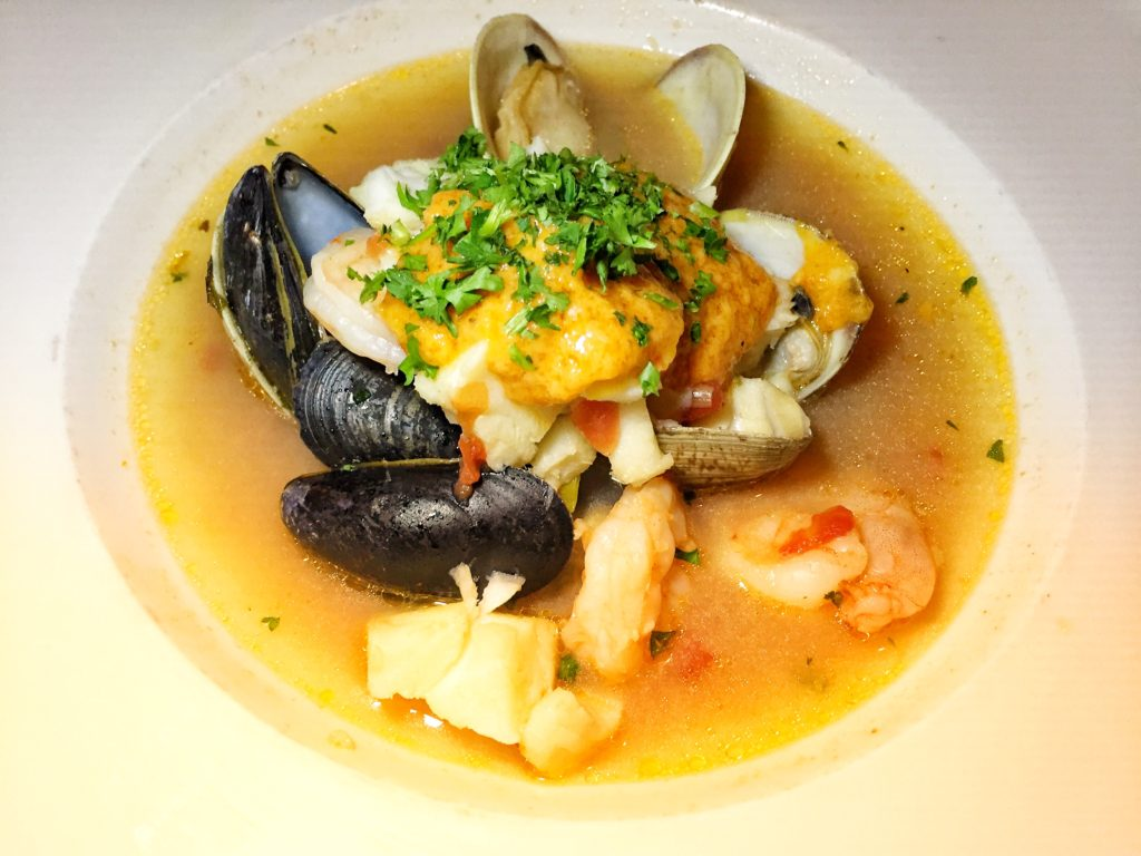 European fish stew