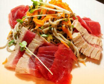 Tuna trio tasting
