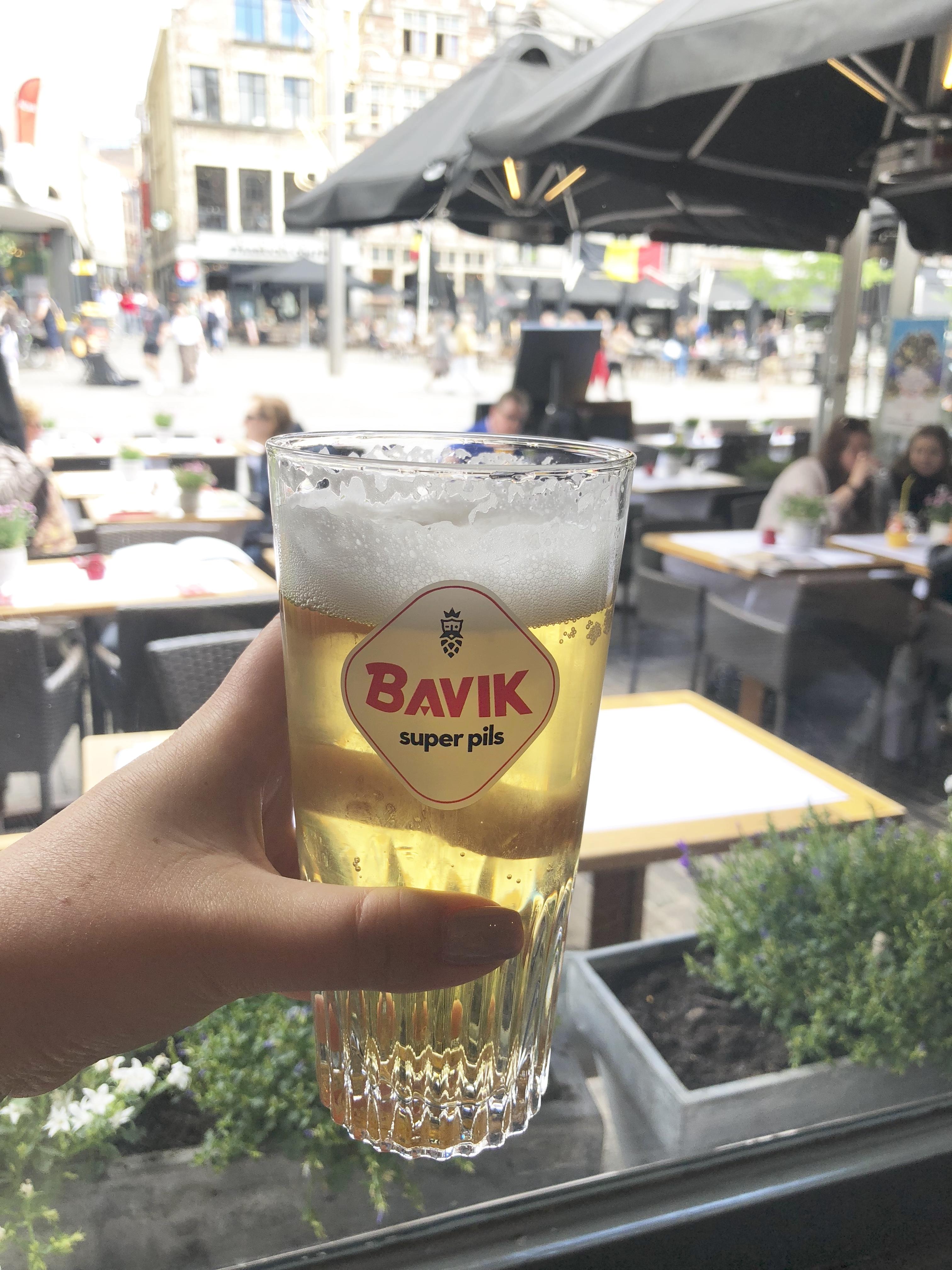 Bavik beer Ghent