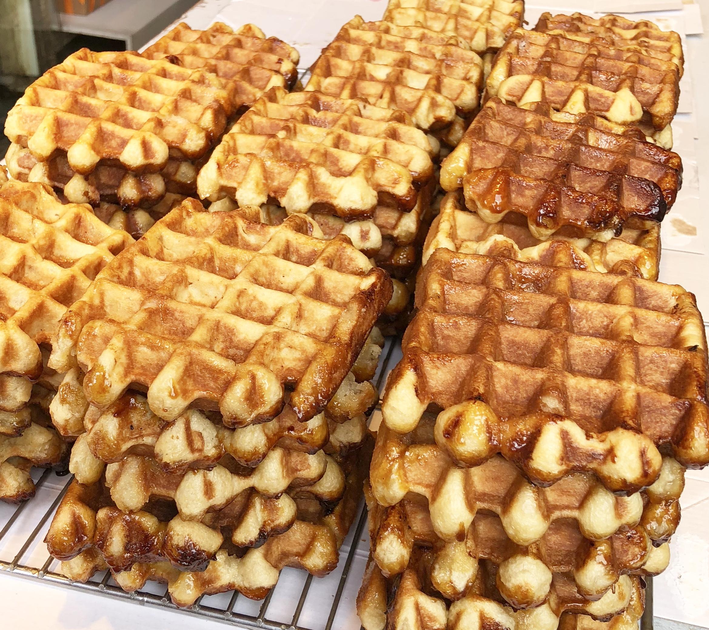 Ghent Belgium waffles
