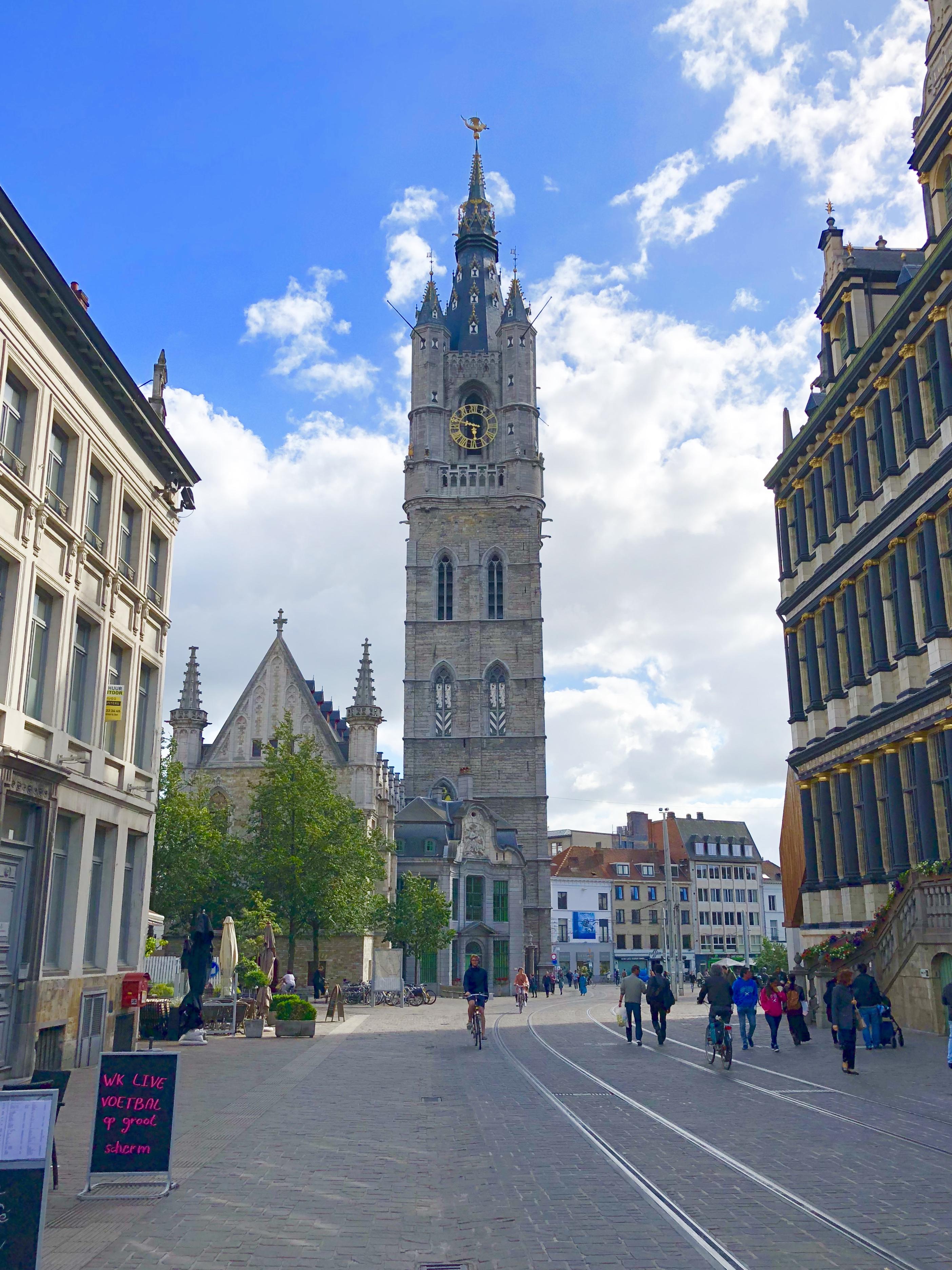 Ghenty Belfry Belgium