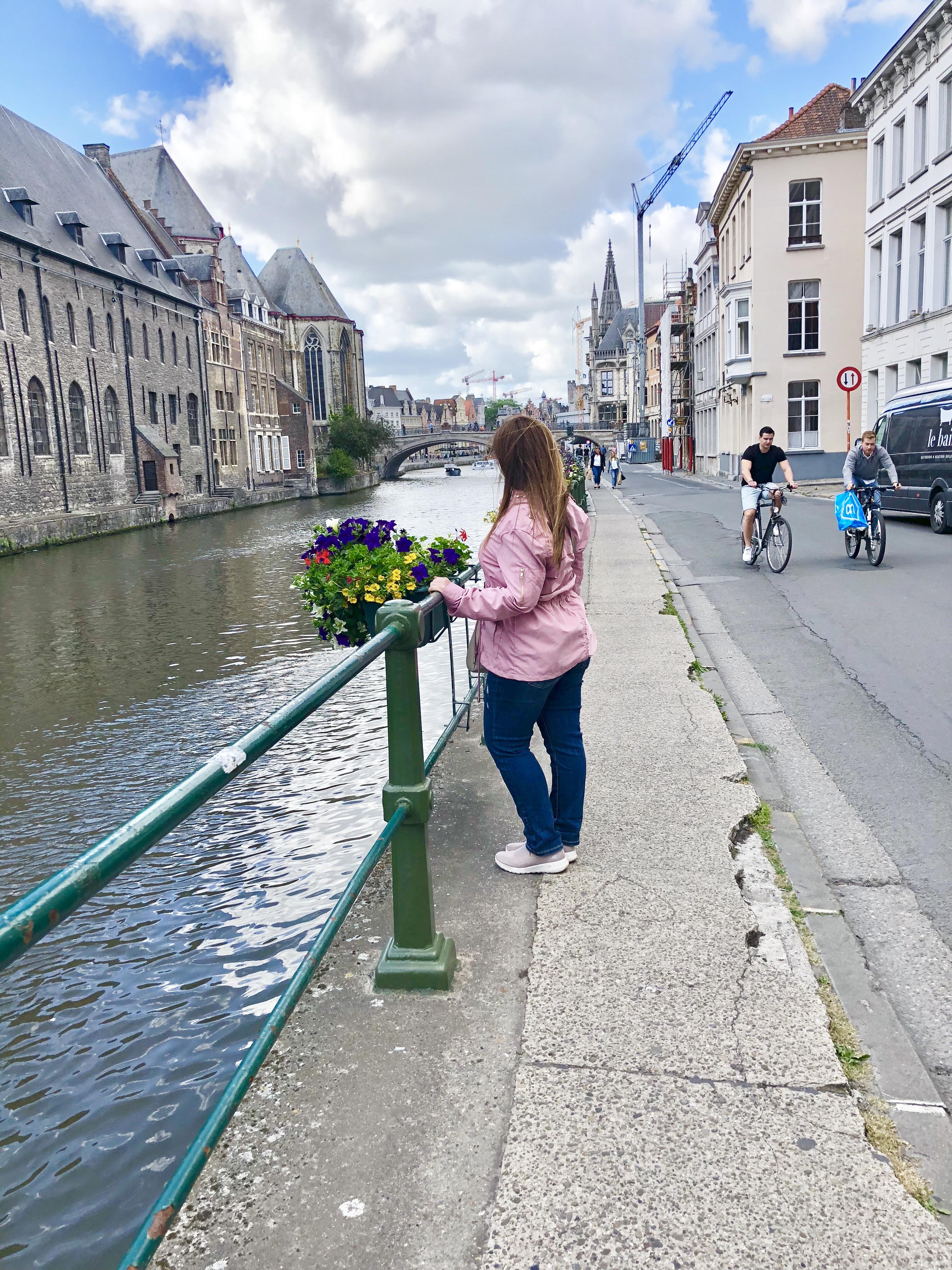 River Leie, Ghent