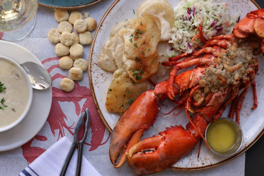 Stuffed Maine Lobster